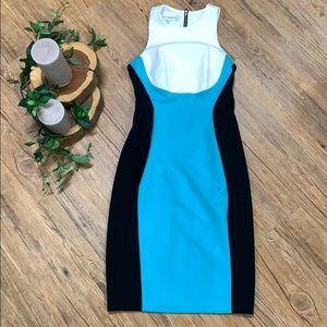NWOT 💥 color block dress